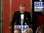 London The British Industry of Management Michael Heseltine speach SOT