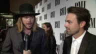 INTERVIEW Michael Hobby Zach Brown on early influences at Mac Davis Recognized As BMI Icon At The 2015 BMI Country Awards on November 03 2015 in...