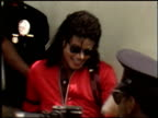 Michael Jackson at the Michael Jackson at Gardner Street School on October 11 1989