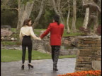 Michael Jackson at the Neverland Ranch with Michael and Lisa at Neverland Ranch Santa Ynez Valley in Santa Ynez Valley CA