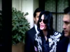 Michael Jackson leaves hotel on Morning of announcement of 'This Is It' concert dates London 05 March 2009