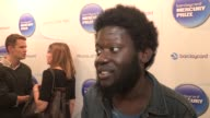 Michael Kiwanuka on working on his album thinking that altj will win and buying musical equipment with prize money at Barclaycard Mercury Prize...