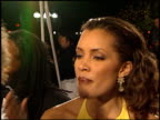 Michael Michele at the NAACP Image Awards at Pasadena Civic Auditorium in Pasadena California on February 12 2000