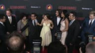 Michael Peña America Ferrera Rosario Dawson Diego Luna 'Cesar Chavez' Los Angeles Premiere at TCL Chinese Theatre on March 20 2014 in Hollywood...