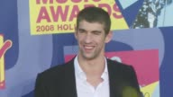 Michael Phelps at the 2008 MTV Video Music Awards at Los Angeles CA