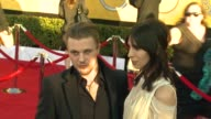 Michael Pitt Jamie Bochert at 18th Annual Screen Actors Guild Awards Arrivals on 1/29/12 in Los Angeles CA