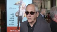 INTERVIEW Michael Schaumburg on the movie on Zach Braff's vision on Los Angeles as the background at 'Wish I Was Here' Los Angeles Premiere Presented...
