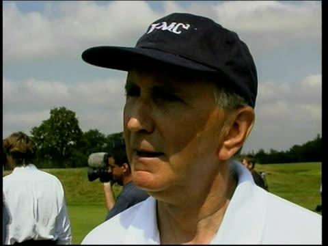 Michael Schumacher in hospital ITN John Watson interview SOT Talks of use of gravel in Formula 1