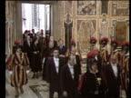 Michael Shea resigns VATICAN April 1985 as Prince Princess Wales visit Vatican
