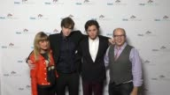 Michael Sluchan Catherine Hardwicke James Paxton and Tyler Young at the Cyndi Lauper's True Colors Fund Inaugural Damn Gala at Hollywood Athletic...