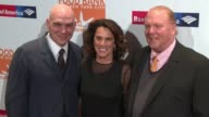 Michael Symon Susi Cahn Mario Batali at Food Bank For New York City CanDo Awards Dinner 2017 at Cipriani Wall Street on April 19 2017 in New York City