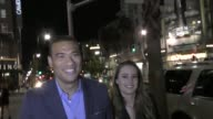 Michael Yo Claire Yo talks about their baby boy they are expecting and reveal his name outside the Equinox Hollywood Opens As A Contemporary Art And...