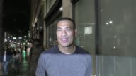 INTERVIEW Michael Yo talks about Simone Biles in Olympics outside Katsuya Restaurant in Celebrity Sightings in Los Angeles