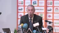 Michel Dussuyer the new head coach of the Ivory Coast national football team gave a press conference in Abidjan on Monday