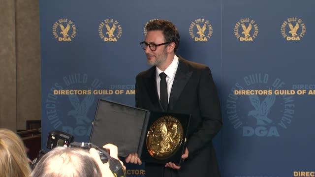 Michel Hazanavicius at 64th Annual DGA Awards Press Room on 1/28/12 in Los Angeles CA