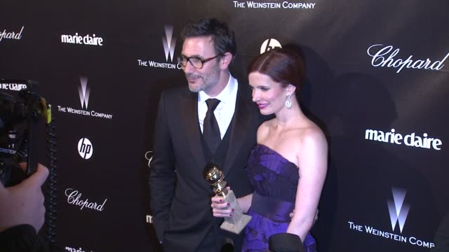 Michel Hazanavicius at The Weinstein Company Golden Globe AfterParty at The Beverly Hilton Hotel on 1/15/12 in Los Angeles CA