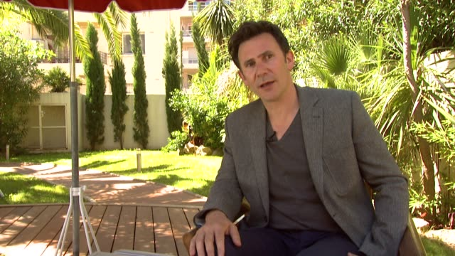 Michel Hazanavicius on his of silent film on what he learnt and his approach to making a silent film at The Artist Interview 64th Cannes Film...