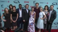 Michelle Ashford Betsy Brandt Jocko Sims Michael Sheen Lizzy Caplan Teddy Sears and Annaleigh Ashford at the 'Masters of Sex' Exclusive Screening and...