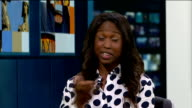 Michelle Gayle criticises Eastenders as being 'too white' Michelle Gayle LIVE STUDIO interview SOT