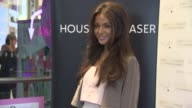 Michelle Keegan at Michelle Keegan Lipsy photocall Opening House of Fraser at House of Fraser on May 07 2015 in London England