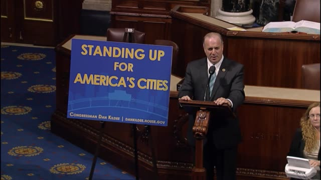 Michigan Rep Dan Kildee says that for water quality in flint Michigan where dismissed by state officials referencing one who told city officials to...
