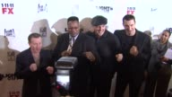 Micky Ward Larry Holmes Wladimir Klitschko Gerry Cooney at the 'Lights Out' New York Premiere at New York NY