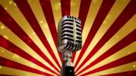 Microfono sfondo (loop)
