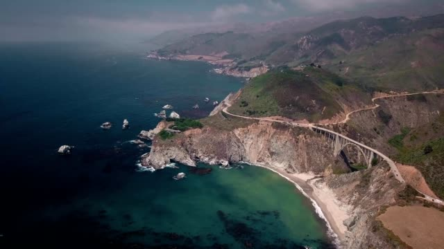 Mid day over Big Sur