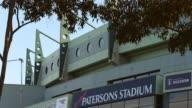 Mid Shot Patersons Stadium signage