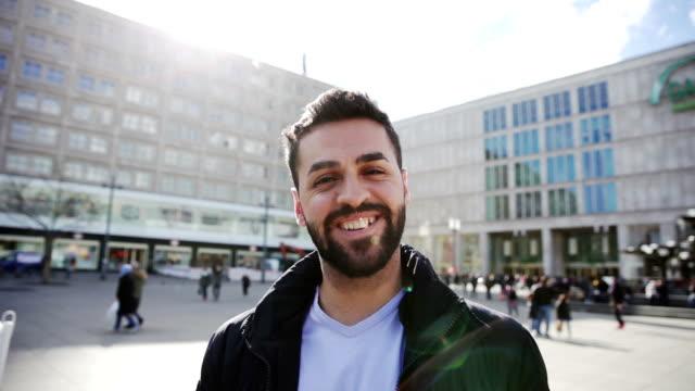 Middle eastern man in Berlin - Germany