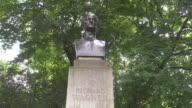 Midshot Richard Wagner monument