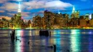 Midtown Manhattan during blue hour