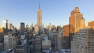 Midtown Manhattan, elevated view towards the Empire State, New York City, New York, Manhattan, United States of America