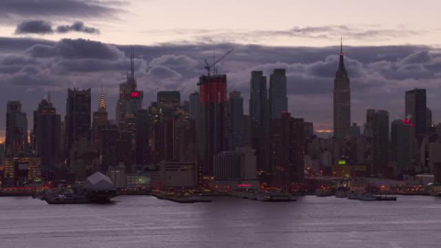 Midtown Manhattan Just Before Sunrise