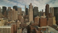 Midtown Manhattan skyline taken from Murray Hill looking toward uptown and the Chrsytler Building