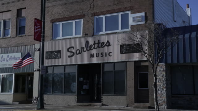 MS of Midwestern America Music store / Storefront