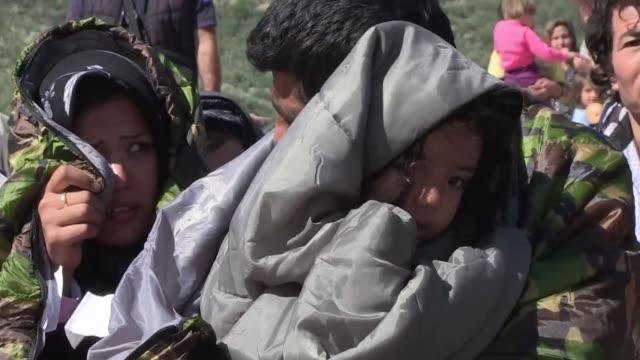 A migrant woman and a child have drowned off the Greek island of Lesbos after their boat sank and another 45 other passengers have been rescued...