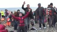 Migrants continue to arrive in droves on the shores of the Greek island of Lesbos Earlier this week Athens announced it will upgrade its refugee...