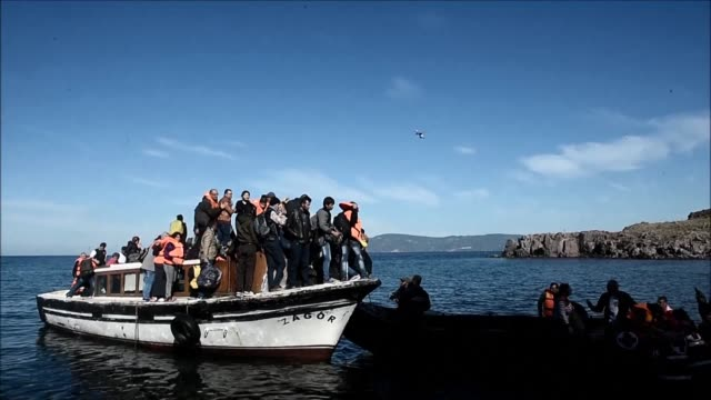 Migrants continue to arrive on the Greek island of Lesbos despite the discovery of the bodies of two young migrants on the shores of Chios and Lesbos