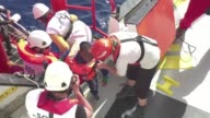 Migrants who have been rescued by volunteers on board the ship the MS Aquarius say all they wish for is a better life having made the dangerous...