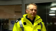 police statement SCOTLAND Edinburgh Assistant Chief Constable Malcolm Graham of Police Scotland statement to press SOT