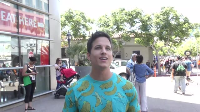 INTERVIEW Mike C Manning on the 'Teen Wolf' finale at Celebrity Sightings at San Diego ComicCon International on July 22 2017 in San Diego California