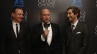 INTERVIEW Mike Judge Thomas Middleditch TJ Miller and Zach Woods on winning an award and on their series 'Silicon Valley' at the 2015 Critics' Choice...