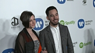 Mike Shinoda at Warner Music Group Hosts Annual Grammy Celebration in Los Angeles CA
