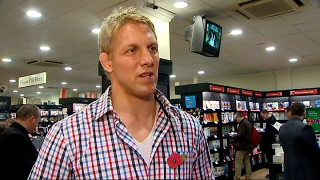 Mike Tindall fined and dropped from England team ENGLAND INT Lewis Moody interview SOT