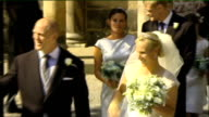 Mike Tindall fined and dropped from England team SCOTLAND Edinburgh Canongate Kirk EXT Zara Phillips and Mike Tindall walking together from church on...