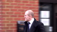 Mike Tindall receives driving ban for drinkdriving ENGLAND Reading Magistrates Court PHOTOGRAPHY*** Mike Tindall leaving court and away past press