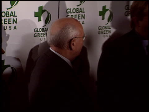 Mikhail Gorbachev at the 2004 Global Green Millennium Awards at the St Regis Hotel in Los Angeles California on March 24 2004