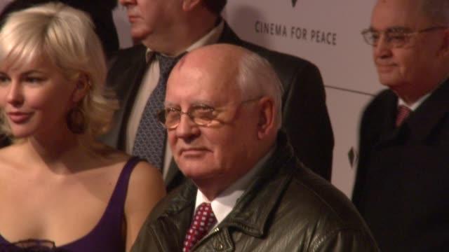 Mikhail Gorbachev at the 59th Berlin Film Festival Cinema For Peace at Berlin