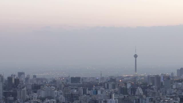 Milad Tower timelapse, Tehran Iran